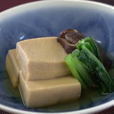 敬老の日に★高野豆腐の煮物【動画プラス】