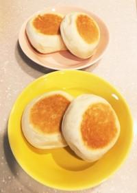 フライパンで焼ける簡単手作りパン!