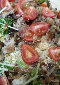 サクサクパン粉のお好みサラダ