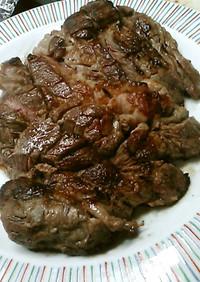 400グラム800円の牛ステーキ