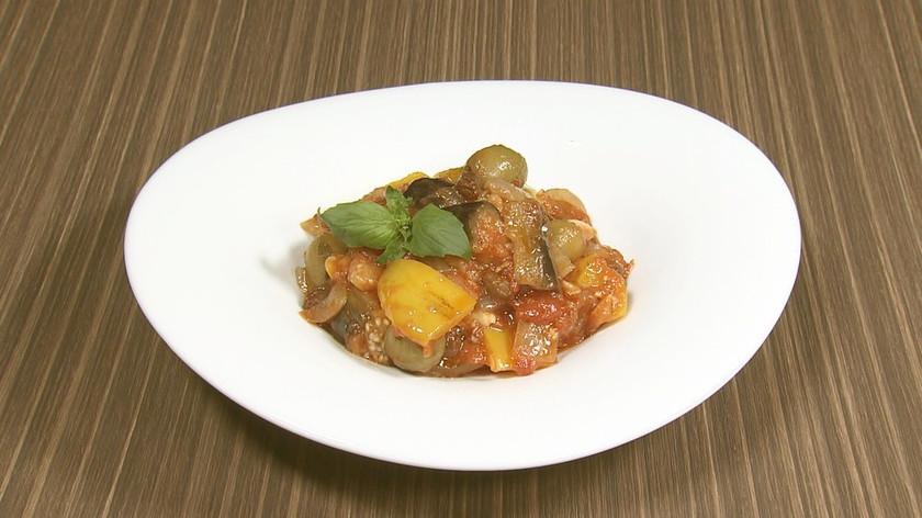 イタリア郷土料理♪野菜たっぷりカポナータ