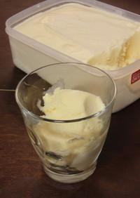 単位計算した牛乳アイス