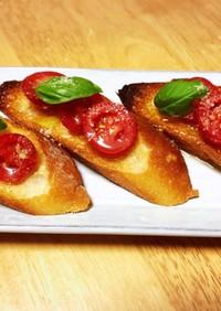 フレッシュトマト オリーブオイル漬け