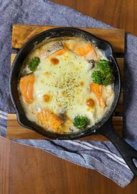 豆乳と長芋ホワイトソースのグラタン