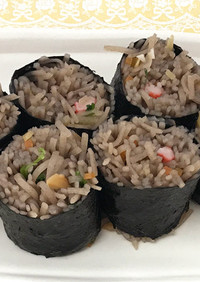 減塩そば寿司(腎臓病)