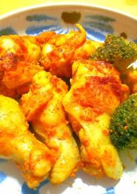 フライパンで炒め煮◎簡単タンドリーチキン