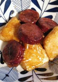 めかじき☆サツマイモのバター醤油照り焼き