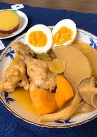 鶏肉と大根のさっぱり煮♪