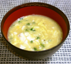 お手軽中華風コーンスープ