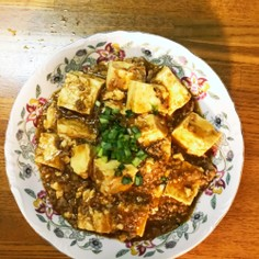 簡単本格麻婆豆腐(八丁味噌バージョン)