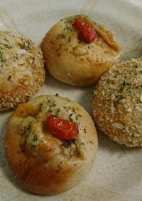 焼きカレーパン 二種