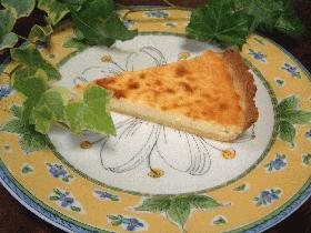 ホワイトチョコのチーズケーキ