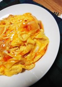 甘酢生姜のたまご丼