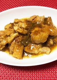 鶏もも肉の梅酒煮