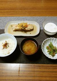 ヨウサマの減塩朝食基本的病院食の日13㊾
