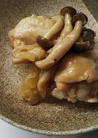 ホットクックで作る鶏手羽元マーマレード煮
