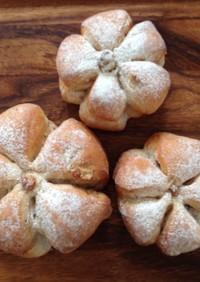 こねないパン作り、しっとりくるみパン