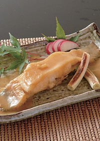 煮魚の定番ナメタカレイの味噌煮