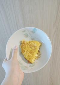 ハンペンで作る伊達巻味のパンケーキ的な!