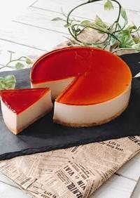 栗のイタリアンプリンケーキ