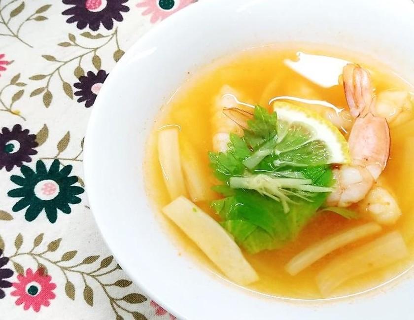 簡単!トムヤムクン風スープ
