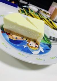 レアチーズケーキ(簡単、ヨーグルトなし)