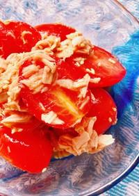 *麺つゆで!トマトとツナの旨うまサラダ*