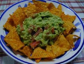 ジェフのメキシコ料理レシピ「トルティージャ/アボカドとトマトのディップ」__Jeff's recipe:Mexican Tortilla with Avocado Dip