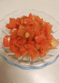 トマトのサラダ【ブルスケッタにも♪】