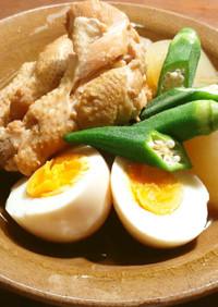 冬瓜と鶏手羽元の煮物 シャトルシェフ