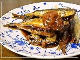 小いわしの甘露煮(圧力鍋使用)