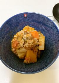 牛肉入り秋のラタトゥイユ(炊飯器調理)
