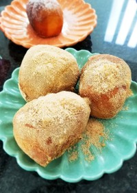コストコのディナーロールで揚げパン