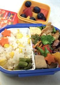 幼稚園児お弁当 8