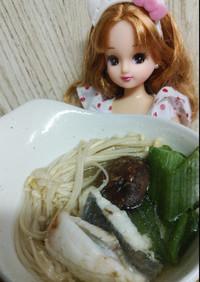リカちゃん♡まとう鯛の昆布茶塩鍋ꕤ*。