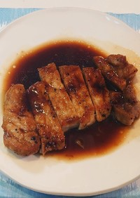 ウチの『トンテキ』簡単だから食べてみて!