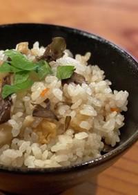 舞茸ご飯[白醤油]