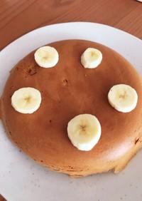 炊飯器で簡単きなこバナナケーキ♡