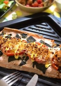 おもてなしに◆秋鮭とトマトのオーブン焼き