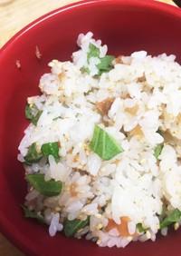 【超簡単】梅干しの炊き込みご飯