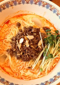 担々麺 肉味噌