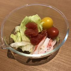 野菜ジュースで☆ひえひえサラダ