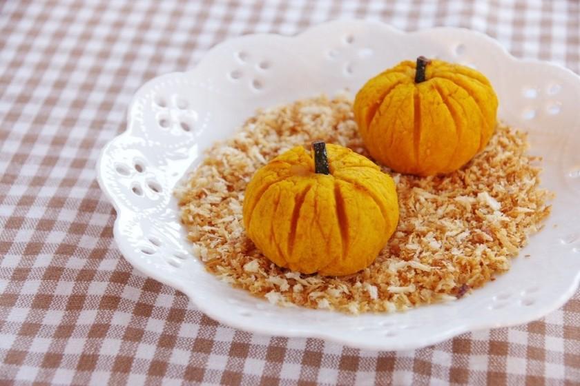かぼちゃのコロッケ焼きハロウィンVer.