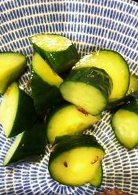時短副菜☆胡瓜のクミン風味