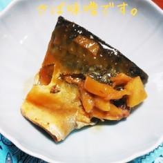 簡単☆鯖の味噌煮・(生姜がきいたん)