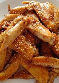 茹で鶏の甘辛煮