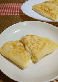 ★糖質オフ!おからの*チーズナン*♪