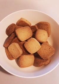 卵不使用のチーズクッキー