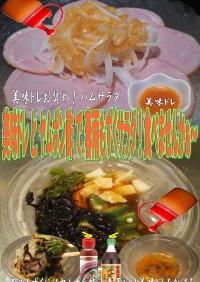 美味ドレとヤムポン酢で春雨もずくサラダ!