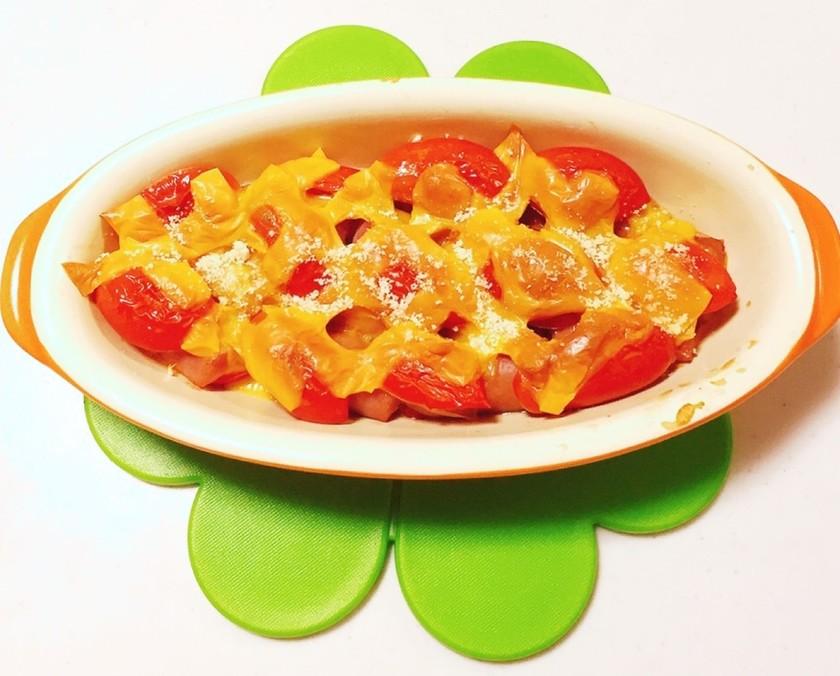 簡単!ミニトマト大量消費♡オーブン焼き②